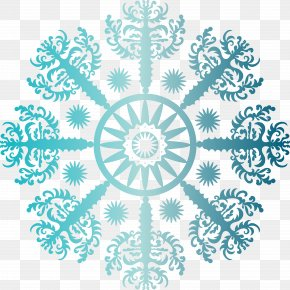 Snowflakes - Blue Aqua Visual Arts Turquoise Teal PNG