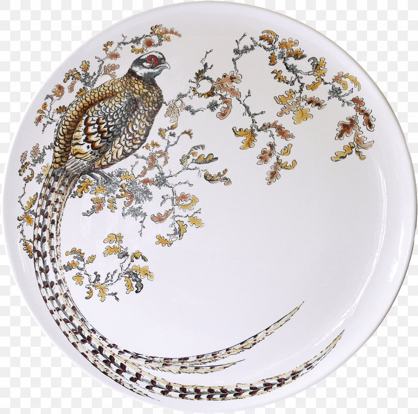 Sologne Reeves's Pheasant Hand Gien, PNG, 1575x1561px, Sologne, Artist, Dish, Dishware, Gien Download Free
