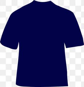Navy Shirt Cliparts - T-shirt Clothing Polo Shirt Clip Art PNG