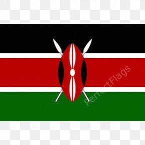Flag - Flag Of Kenya National Flag Flag Of Kyrgyzstan PNG