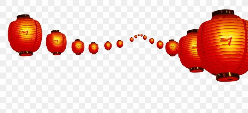 Chinese New Year Lantern Festival Red Lunar New Year, PNG, 3543x1616px, Chinese New Year, Chinoiserie, Firecracker, Lantern, Lantern Festival Download Free