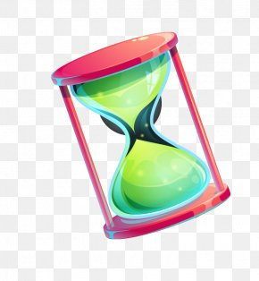 Drawing Cartoon Hourglass - Hourglass Drawing Watercolor Painting PNG