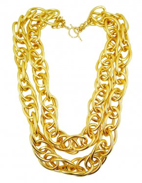 Chain - Necklace Gold Jewellery Chain PNG