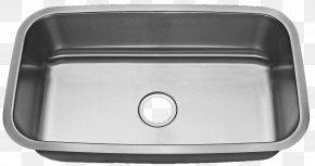 Sink - Sink Countertop Stainless Steel Brushed Metal Granite PNG