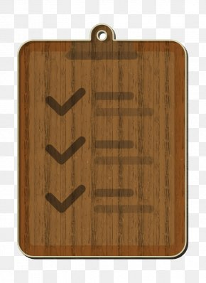 Plank Hardwood - Management Icon Notepad Icon Check Mark Icon PNG