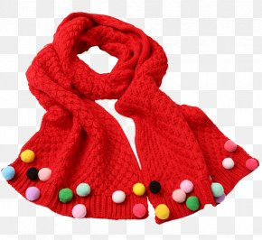 Children's Autumn And Winter Scarves - Scarf Winter Autumn Wool PNG