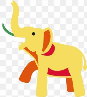 Elephant Vector Material - Indian Elephant Clip Art PNG