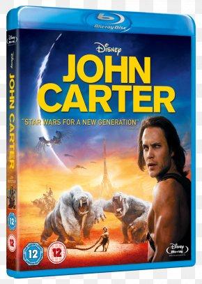 Blu Ray - John Carter Blu-ray Disc Andrew Stanton Film Barsoom PNG