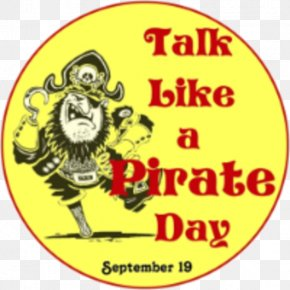 Pirate - International Talk Like A Pirate Day Clip Art September 19 Holiday PNG