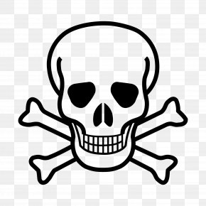 Skull & Crossbones - Skull And Bones Skull And Crossbones Human Skull Symbolism Poison PNG