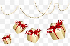 Ribbon Christmas Ornament - Christmas Gift New Year Gift Gift PNG