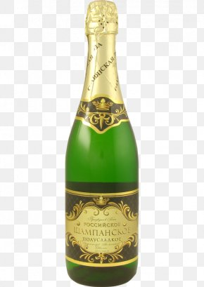 Champagne - Champagne Wine Cognac Bottle PNG