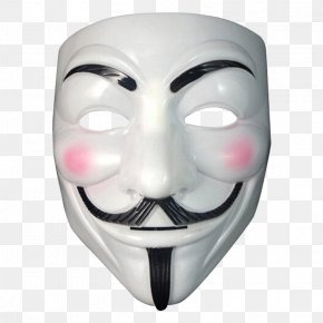 Anonymous Mask - Guy Fawkes Mask Anonymous Costume Party PNG
