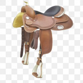 Horse - American Frontier Horse Saddle Western Riding Reining PNG