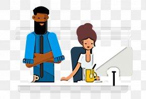 Employment Conversation - Cartoon Conversation Employment PNG
