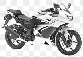 Kawasaki Ninja 250R White Motorcycle Bike - Honda CBR250R/CBR300R Kawasaki Ninja 250R Kawasaki Motorcycles Sport Bike PNG