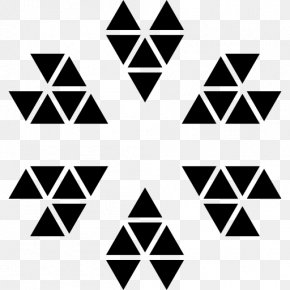 Texas Star Triangle Pattern - Polygon Triangle Geometry Shape Vector Graphics PNG