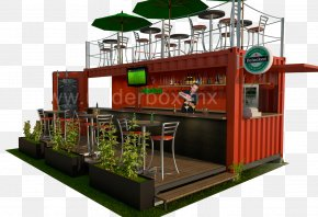 COUNTER - Intermodal Container Container City Bars & Restaurants Shipping Container Architecture PNG