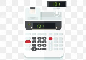 Calculator - Cash Register Money PNG