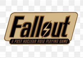 Fallout Logo Image - Fallout 3 Fallout: New Vegas Fallout: Brotherhood Of Steel Fallout 4 Fallout 2 PNG