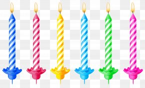 Birthday Candles Clipart Picture - Birthday Cake Candle Clip Art PNG