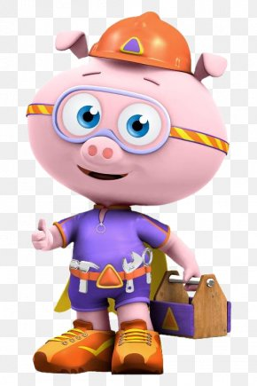 Character - Pig Super Why! Power To Read PBS Kids Television Show Child PNG