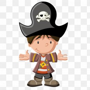 Pirate Boy - Piracy Cartoon Royalty-free Stock Photography PNG