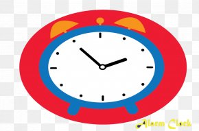 Red Alarm Clock - Alarm Clock Table Household Goods PNG