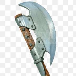 Axe - Larp Axe Battle Axe Orc Live Action Role-playing Game PNG