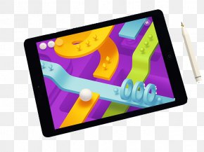 FIG Tablet - IOS Dribbble Arcade Game Video Game User Interface PNG