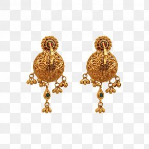 Hyderabad - Earring Jewellery Gold Jewelry Design Necklace PNG