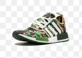 Adidas - Bape X NMD R1 Adidas NMD R1 Mens Sneakers Shoe PNG