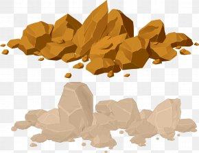 Muck Rock Material Gravel Stones - Rock Boulder Royalty-free Illustration PNG