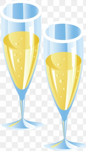 Champagne - Champagne Wine Cocktail Wine Glass PNG