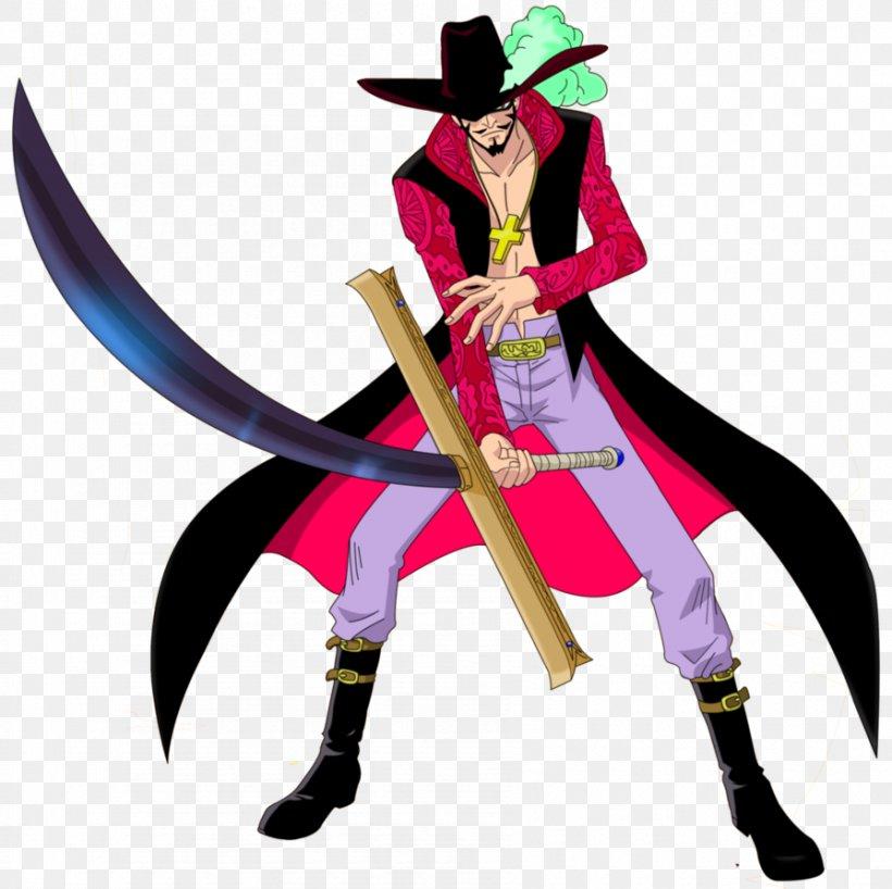 Dracule Mihawk Roronoa Zoro Monkey D. Luffy Shanks One Piece, PNG, 895x893px, Watercolor, Cartoon, Flower, Frame, Heart Download Free