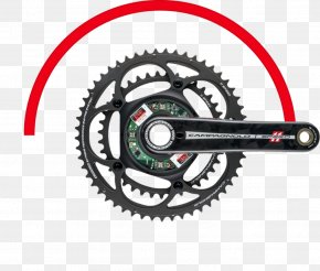 Bicycle Cranks - Campagnolo Record Bicycle Cranks Cycling Power Meter PNG