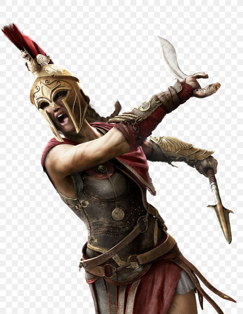 Assassin's Creed Odyssey Assassin's Creed: Origins Video Games Assassin's Creed Rogue Assassin's Creed IV: Black Flag, PNG, 3091x4000px, Video Games, Art, Assassins, Cold Weapon, Fictional Character Download Free