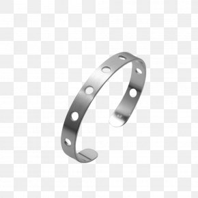 Silver - Bangle Material Silver Body Jewellery PNG