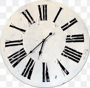 Clock - Clock Face Roman Numerals Wall Quartz Clock PNG