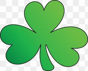 Clover - Ireland Shamrock Saint Patrick's Day Clip Art PNG