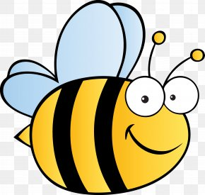 Bumble Bee - Honey Bee Royalty-free Cartoon PNG