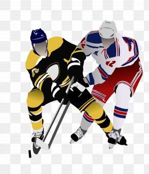 Hockey Players - Ice Hockey Pond Hockey PNG