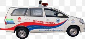 Car - Karnataka Police Car Highway Patrol Police Car PNG