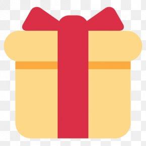 Present - Gift Emoji SMS Birthday Christmas PNG