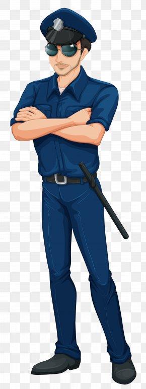 Cop Policeman Clip Art Image - Police Officer Euclidean Vector Stock Illustration PNG