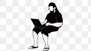 Man Sitting - Sitting PNG