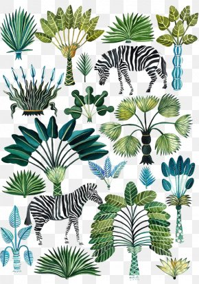 Tropical Plants Animals - Fashion Forecasting Printing Spring Color PNG