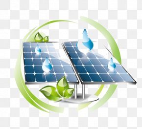 Solar Panels Creative Elements - Solar Panel Solar Power Solar Energy Renewable Energy PNG