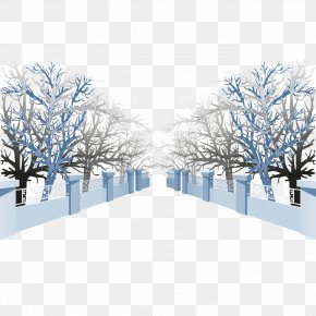 Cross Forest Dead Trees And Fences - Forest Tree Gratis PNG