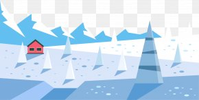A World Of Ice And Snow - Adventure Snow Illustration PNG